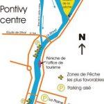 Le Blavet en centre ville de Pontivy