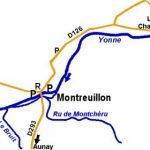 L'Yonne à Montreuillon