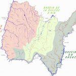 Carte des bassins de l'Ain