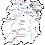 Réseau hydrographique de l'Essonne