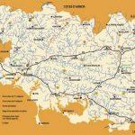 Cartes du réseau hydrographique du Morbihan