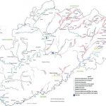 Réseau hydrographique en Haute-Saône