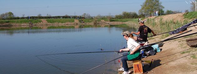 Fédération de pêche de Saône-et-Loire : Les carpodromes de la Guinguette et de l'étang des Moines