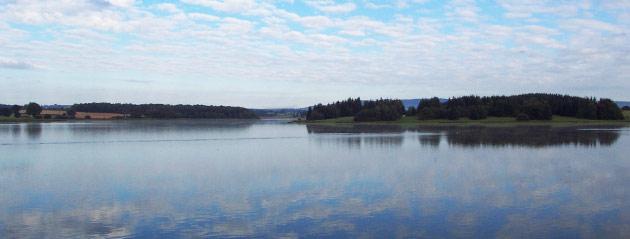 Fédération de pêche de Saône-et-Loire : Le lac de la Sorme