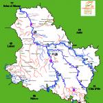 Réseau hydrographique de l'Yonne