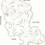 Réseau hydrographique du Territoire de Belfort