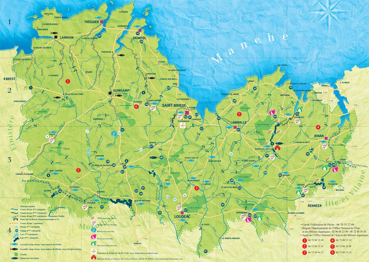 La pêche dans les Côtes d'Armor