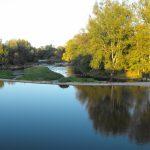 Secheresse Sioule ; problème Moulin de la Ville (26)
